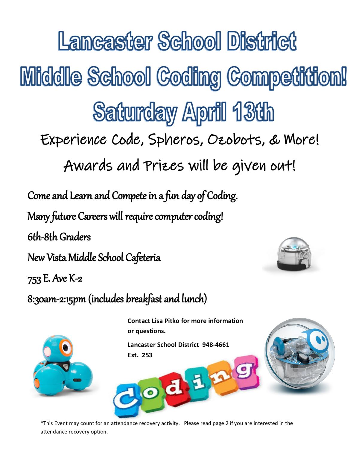 Middle School Coding Competition
