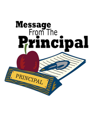 Message from the Principal!  March 1, 2021