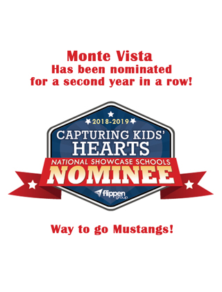 Monte Vista nominated for CKH Showcase school
