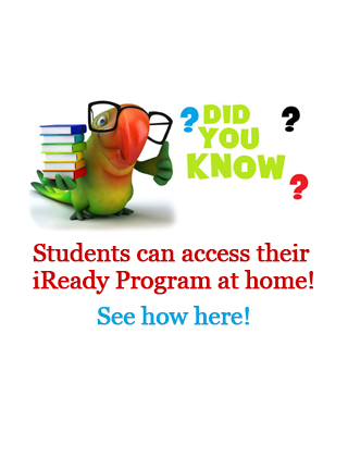 Find information on how to access iReady at home
