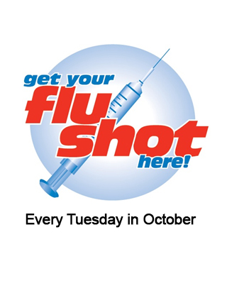 Free Flu Shots every Tuesday in October!