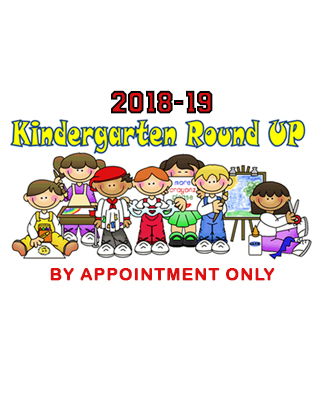 It's Time for Kinder Roundup! April 10th-30th