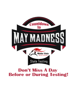Countdown to March Madness!  Starting May 13th!