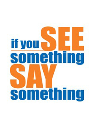 School Safety-See something, say something