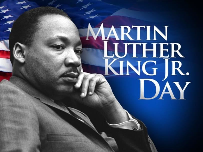 January 21st - Martin Luther King Jr. Day - No School