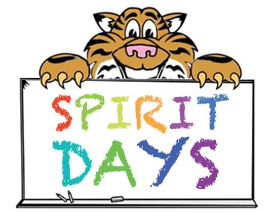 Spirit Wear Loud and Proud! - Every Friday