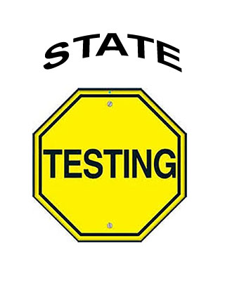 State Testing begins on Tuesday April 23th for 3rd-6th Grade!!