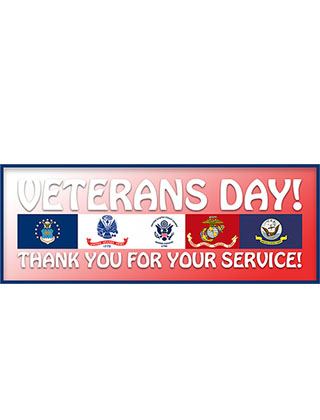 Happy Veterans Day!! Thanks you to all that have served and continue to do so. You truly are our Real Superheroes!! No School 11-11-19