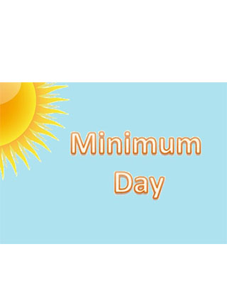 Minimum Day Today!! School's out at 12:45pm. Parent-Teacher Conferences 10-17-19