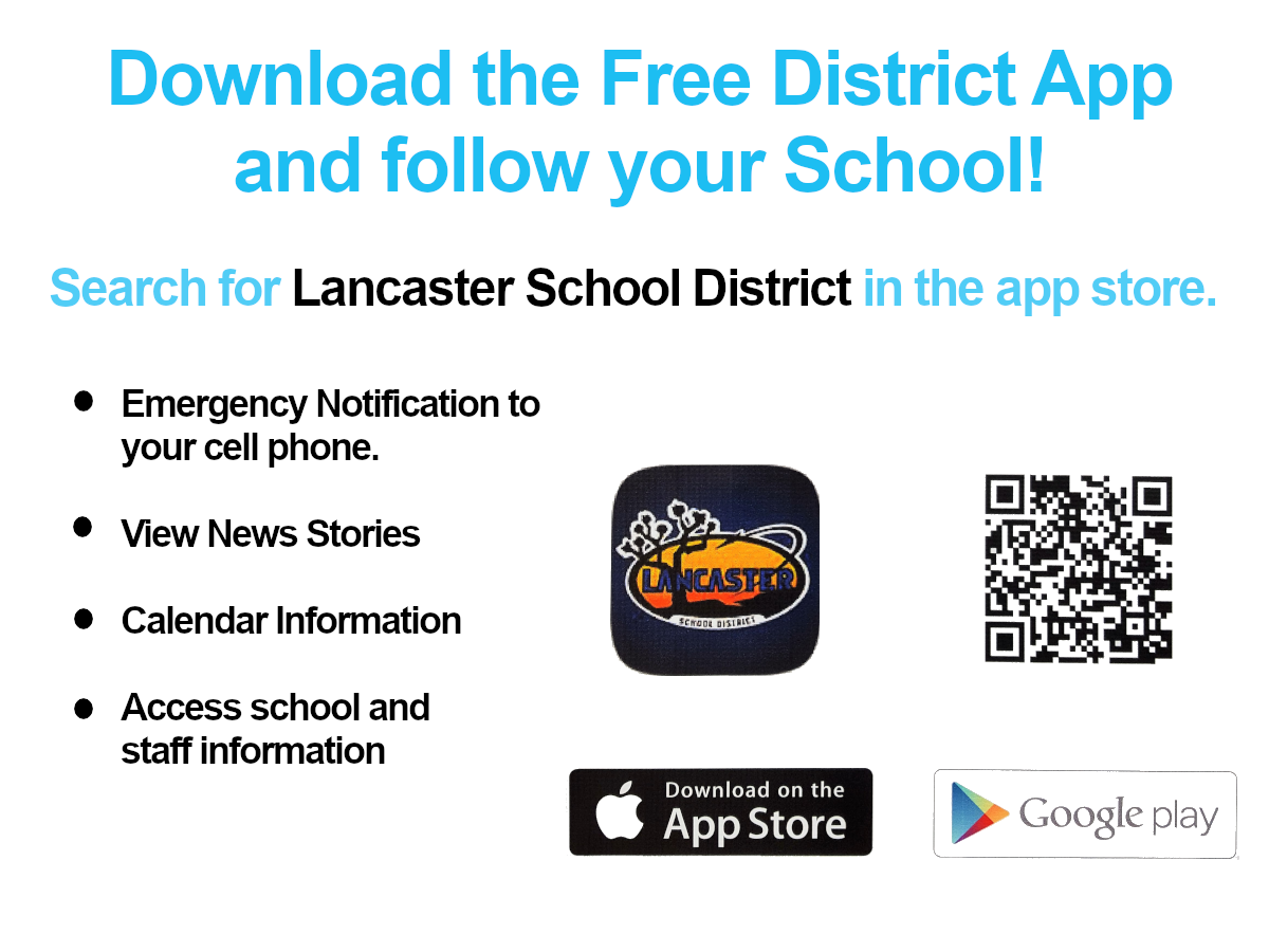Follow your school. Download the web app today