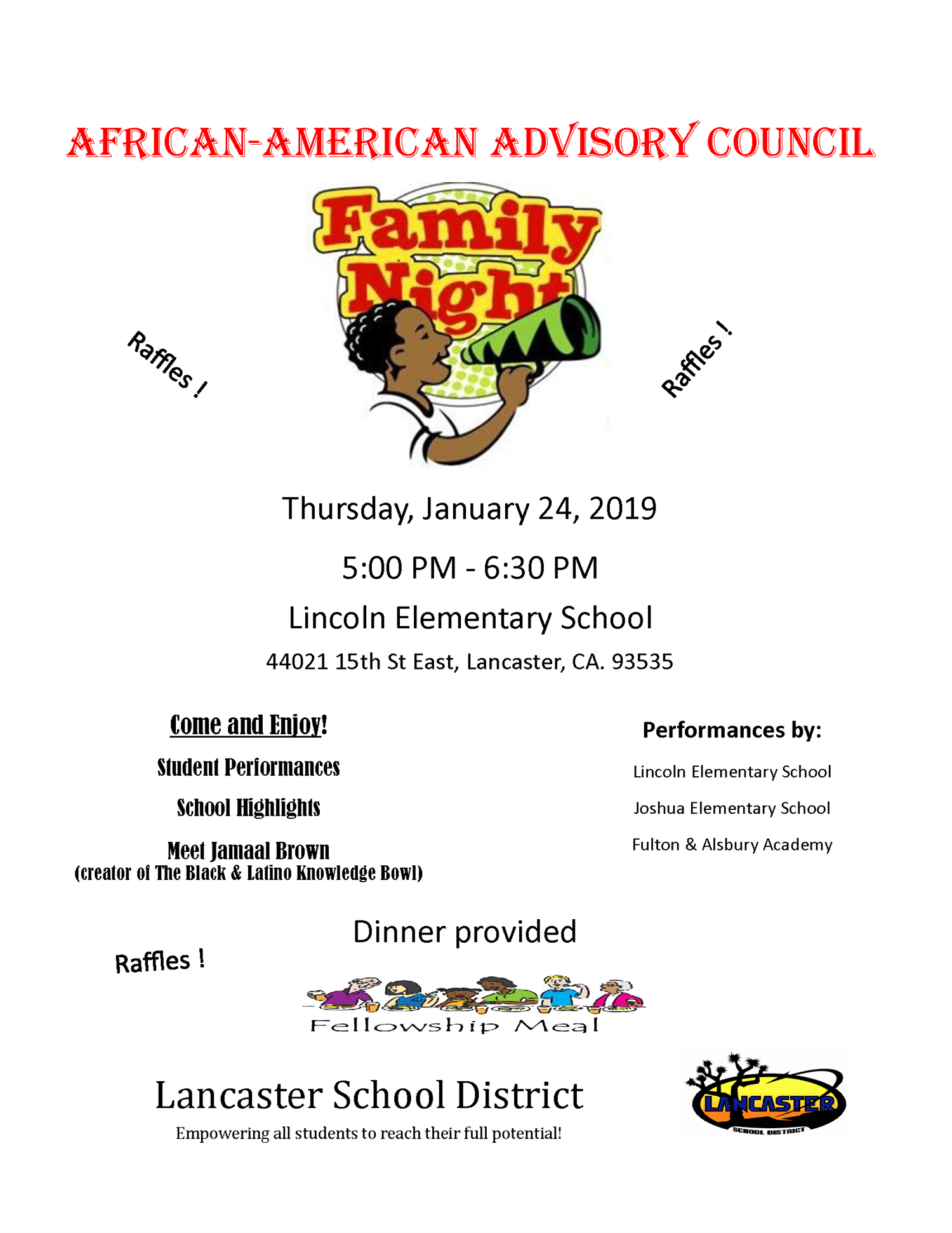 AAAC Family Night