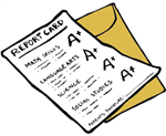 Report Card Clip Art